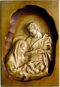Obrazy Religijne Z Drewna Plaskorzezby I Ikony Na Drewnie