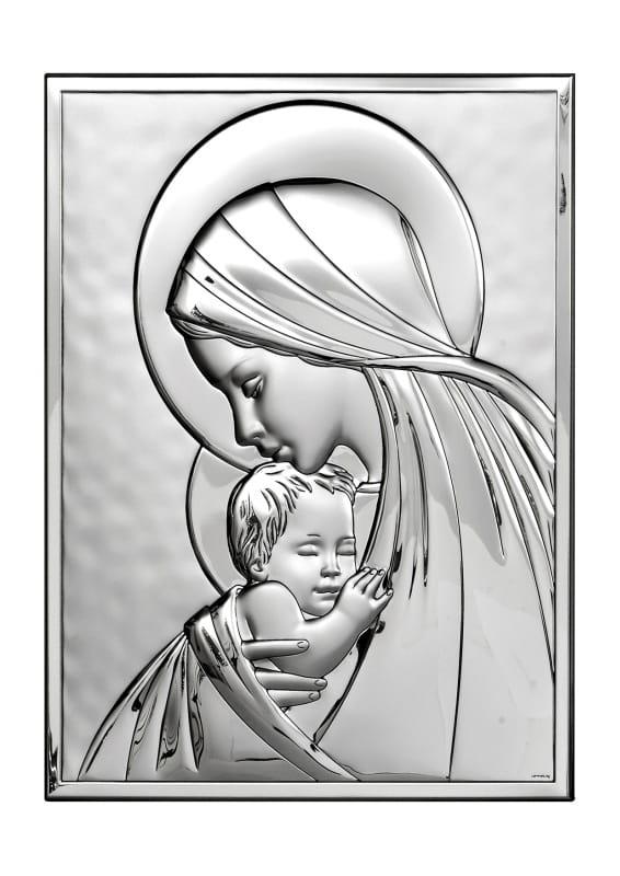 Nietypowy Okaz Wizerunek Matki Boskiej w formie obrazu do postawienia i powieszenia UQ53