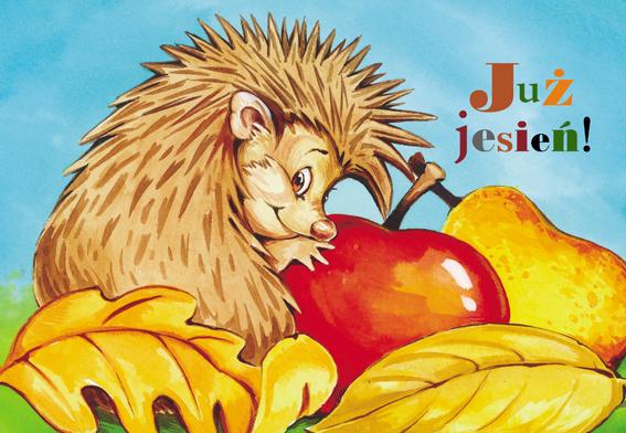 Już jesień! - malowanka dla dzieci