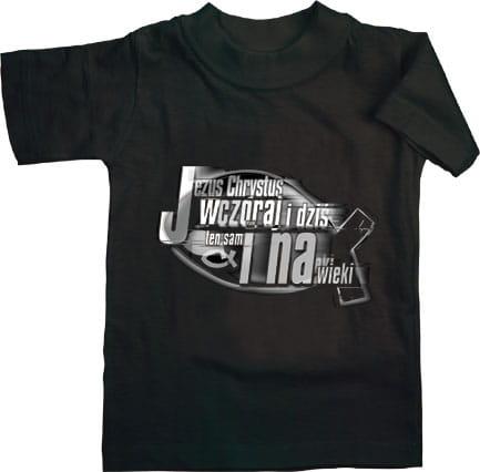 Koszulka z logo religijnym